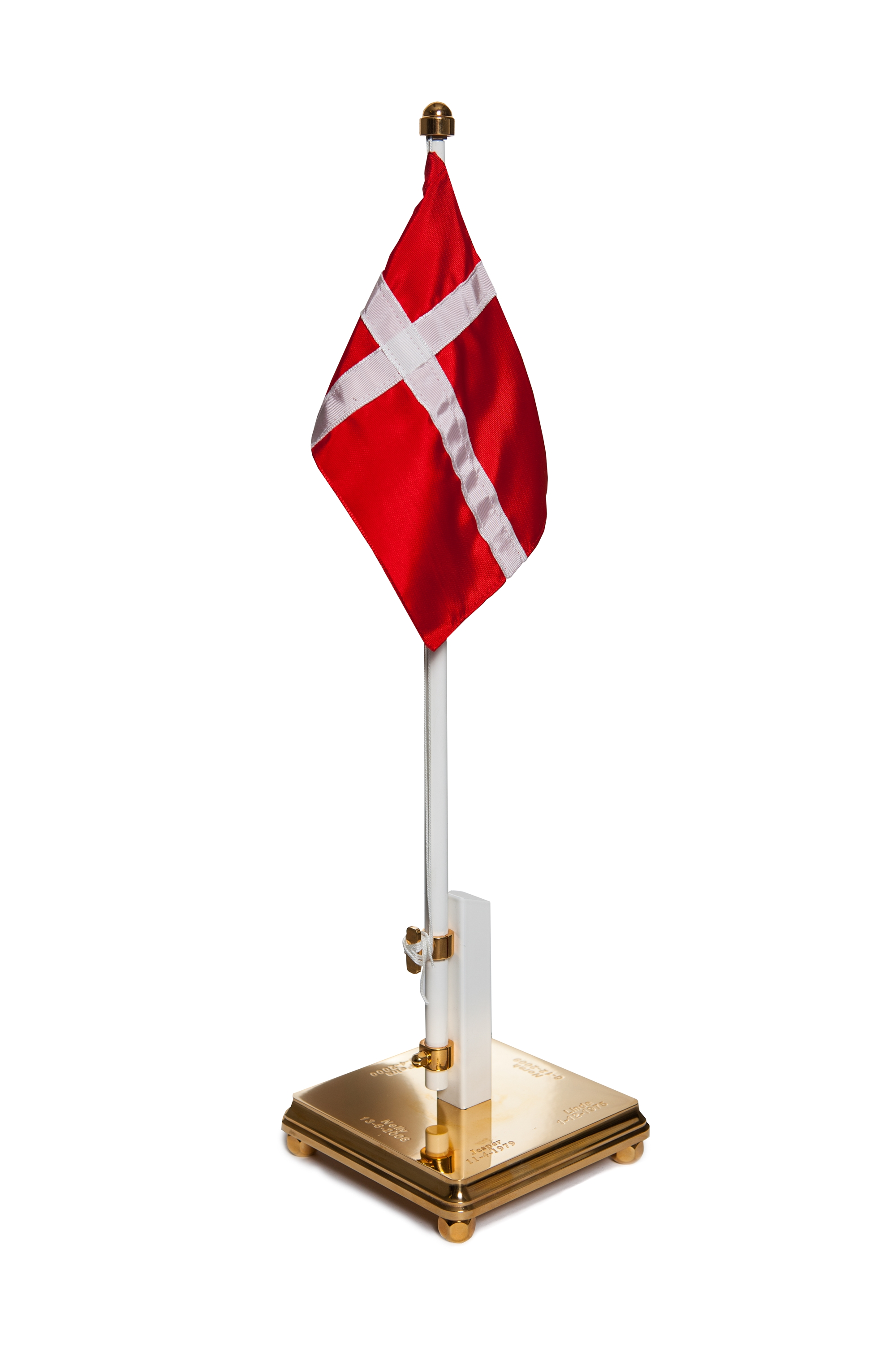 Flagstang med flag