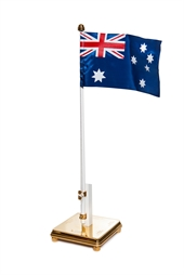 Flagpole with Australia's flag